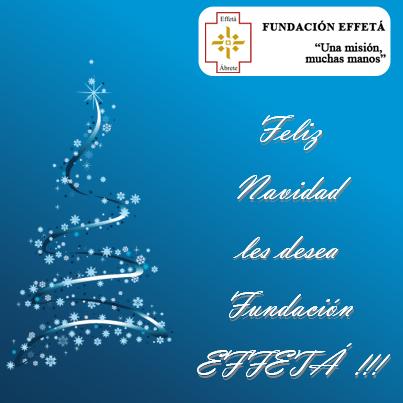 Feliz Navidad Effeta